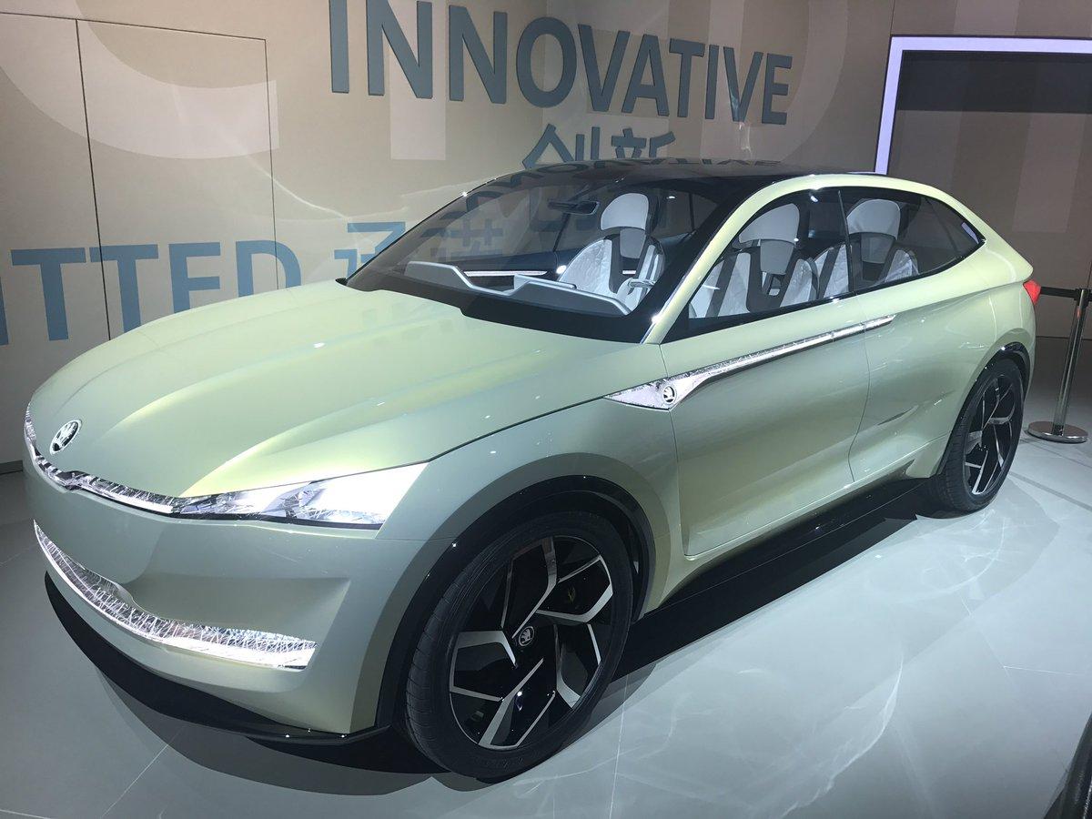 Elektrická Škoda Vision E