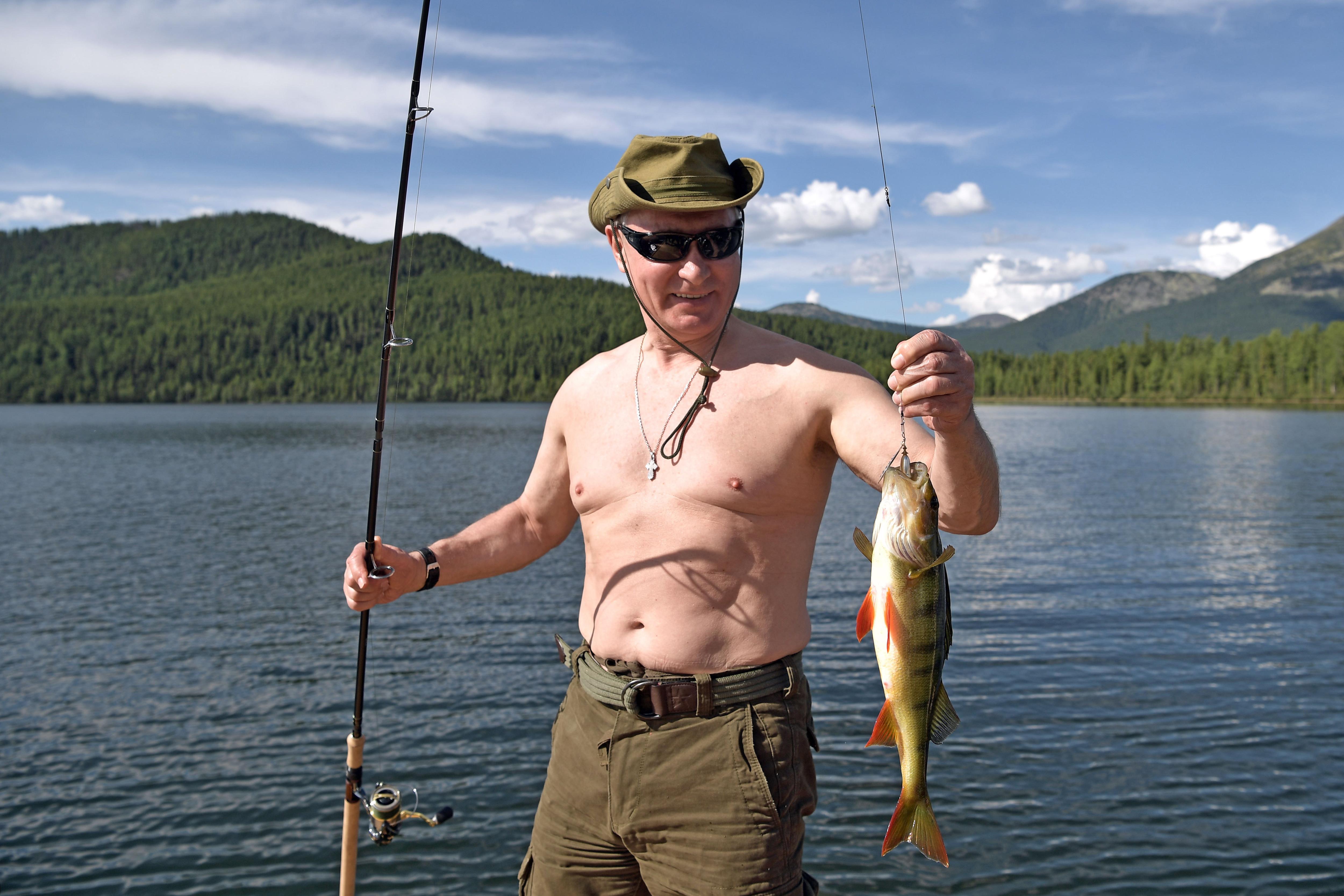 Putin dovolenka