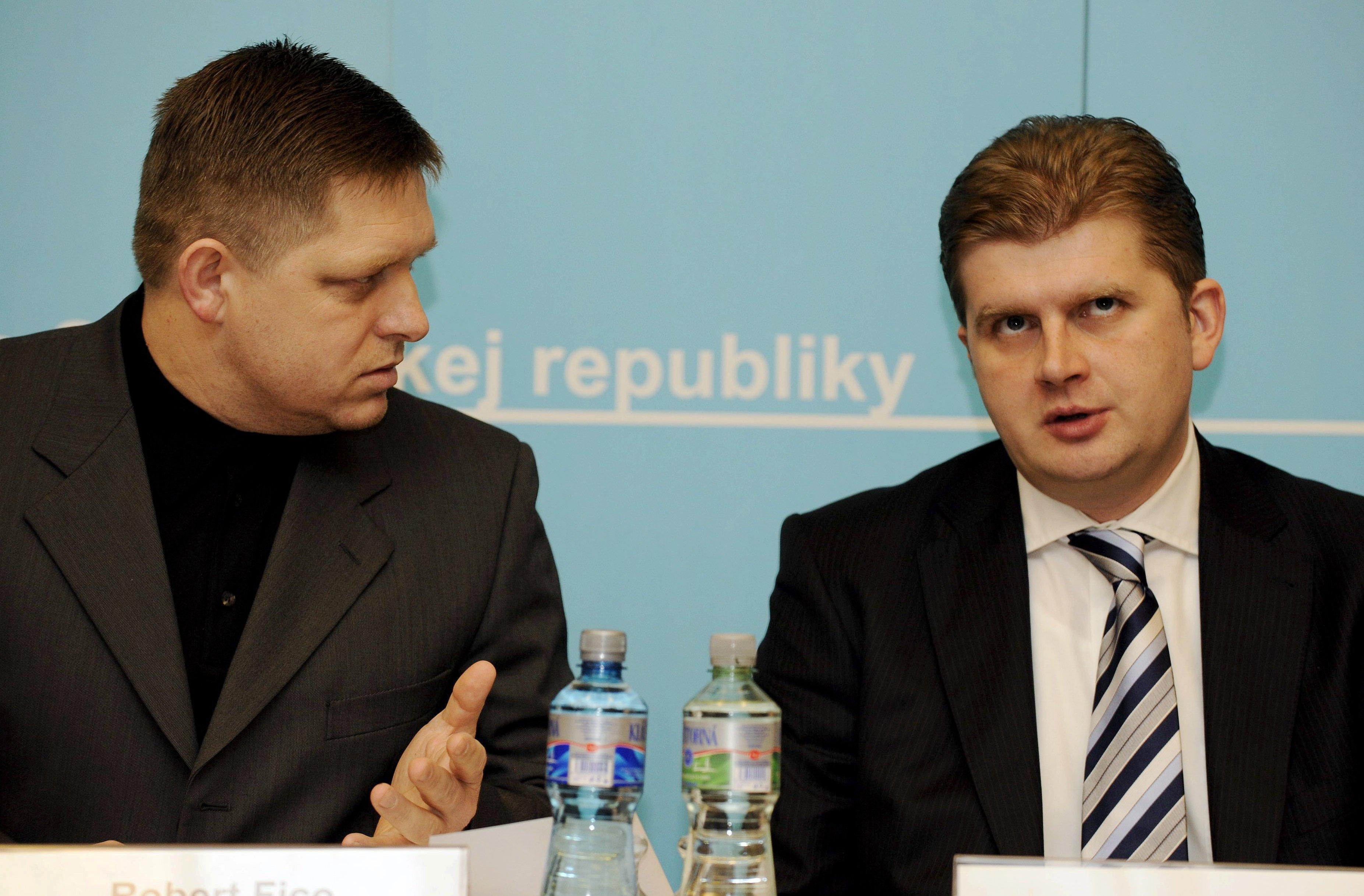 Robert Fico, Peter Žiga