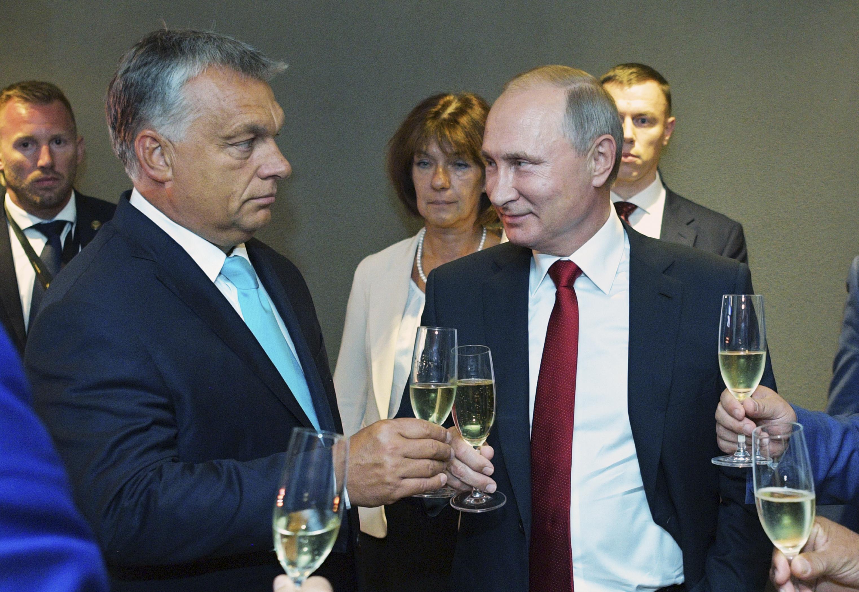 Vladimir Putin Viktor Orbán