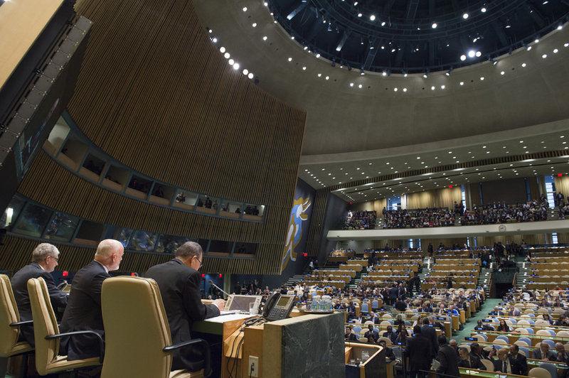 Summit OSN 2016, kde sa prijala Newyorská deklarácia. Foto: UN