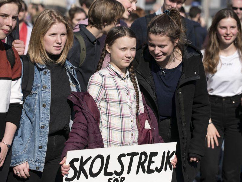 Švédska klimatická aktivistka Greta Thunberg